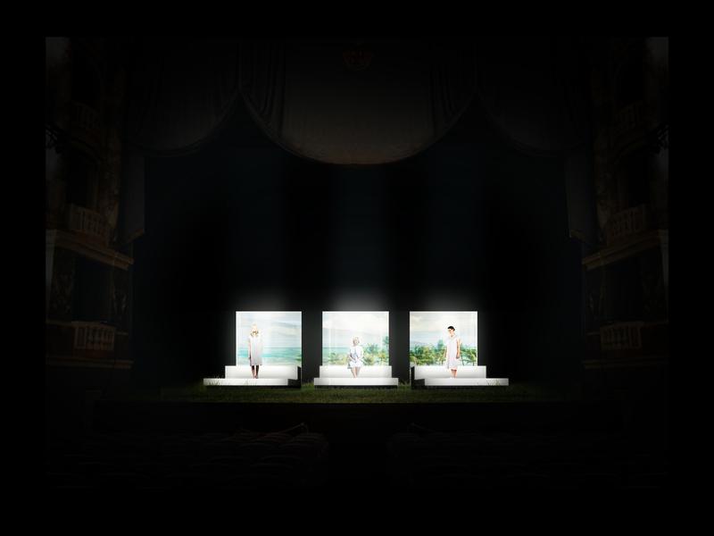 CENERE <br> Atto unico - scena 1