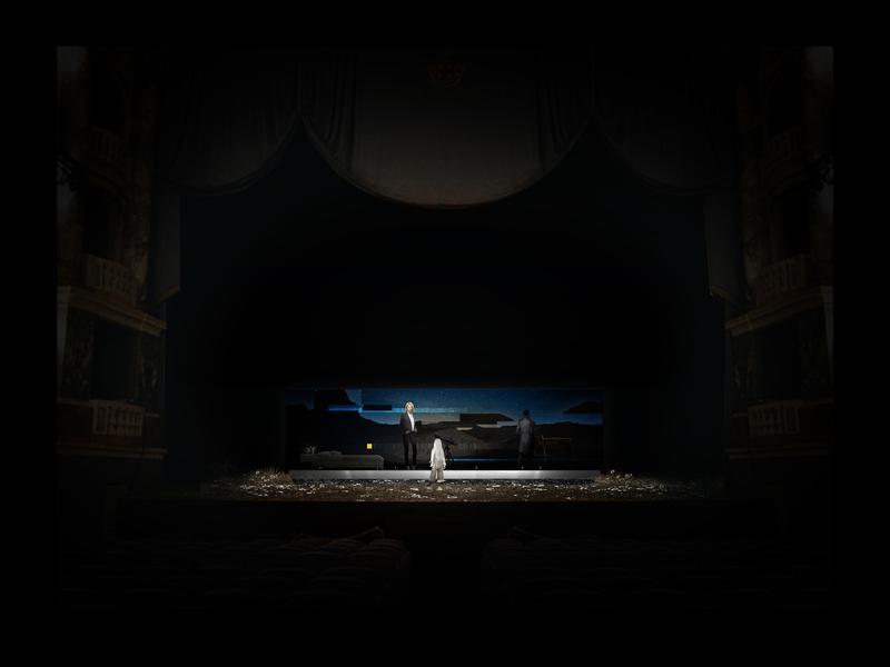 CENERE <br> Atto unico - scena 3