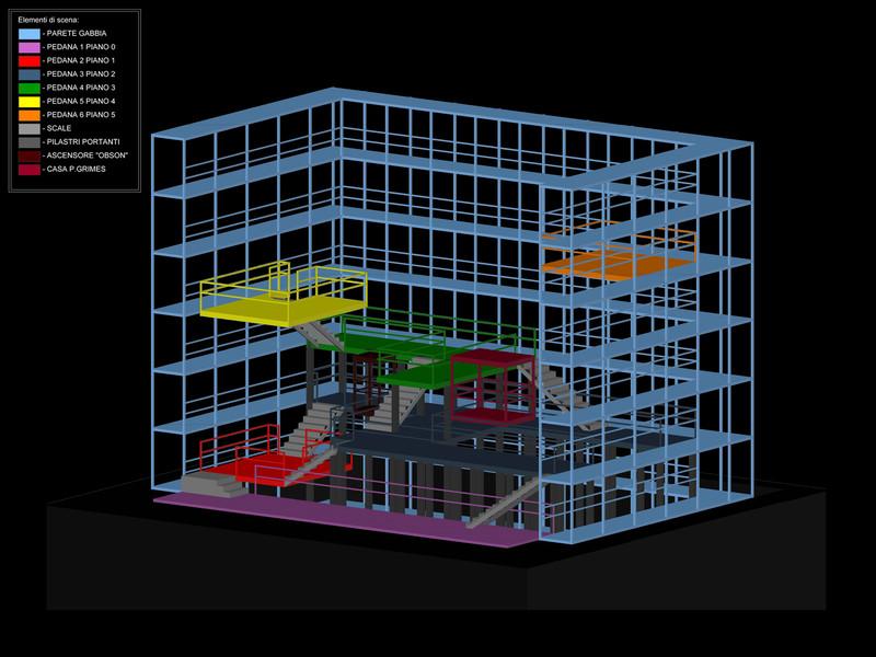 PETER GRIMES<br> Assonometria 3D